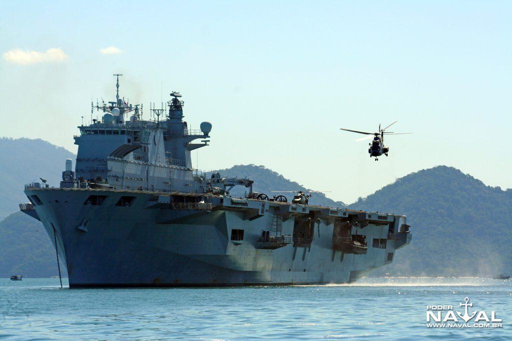 HMS Ocean no Brasil em 2010