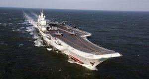 O porta-aviões Liaoning