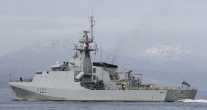 HMS Forth, primeiro NPaOc classe River 2 da Royal Navy