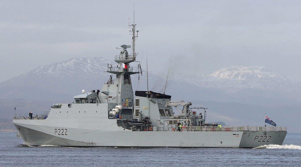 HMS Forth, primeiro NPaOc classe River 2 da Royal Navy