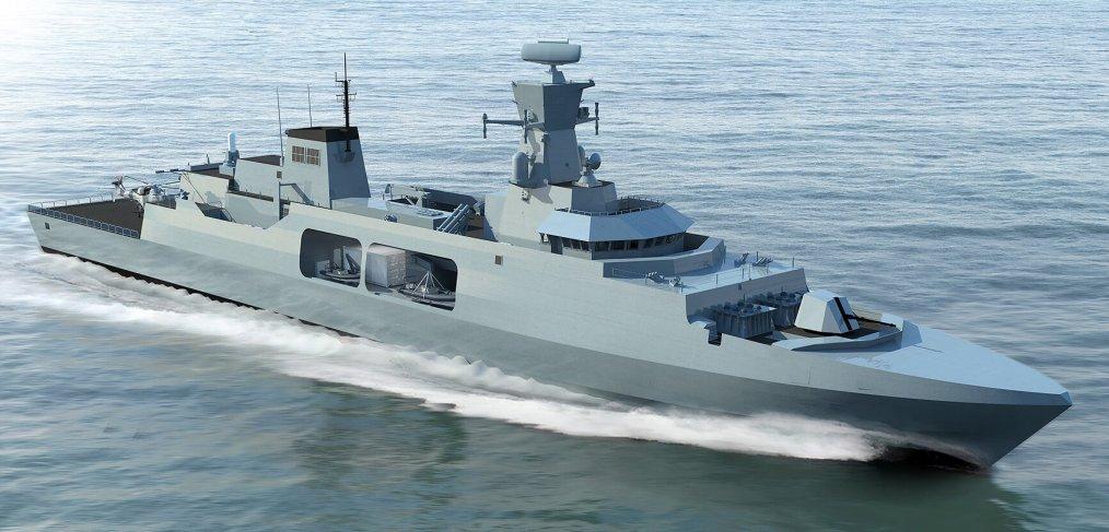 O conceito da Type 31e Leander