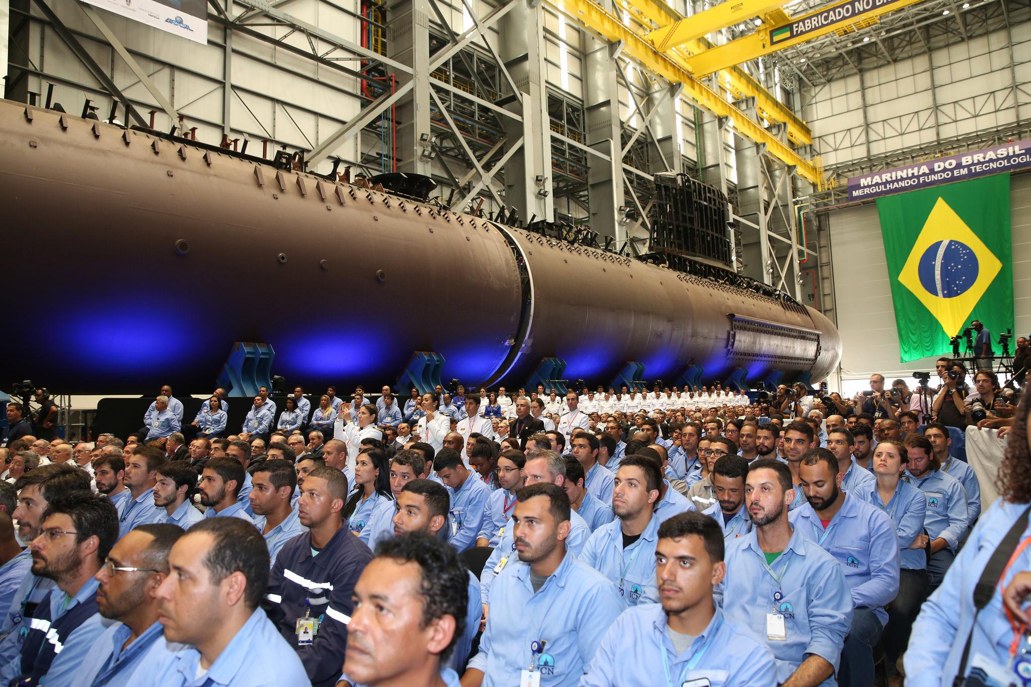b328229d36031 Submarino Riachuelo: coletiva de imprensa e mais detalhes sobre o ...