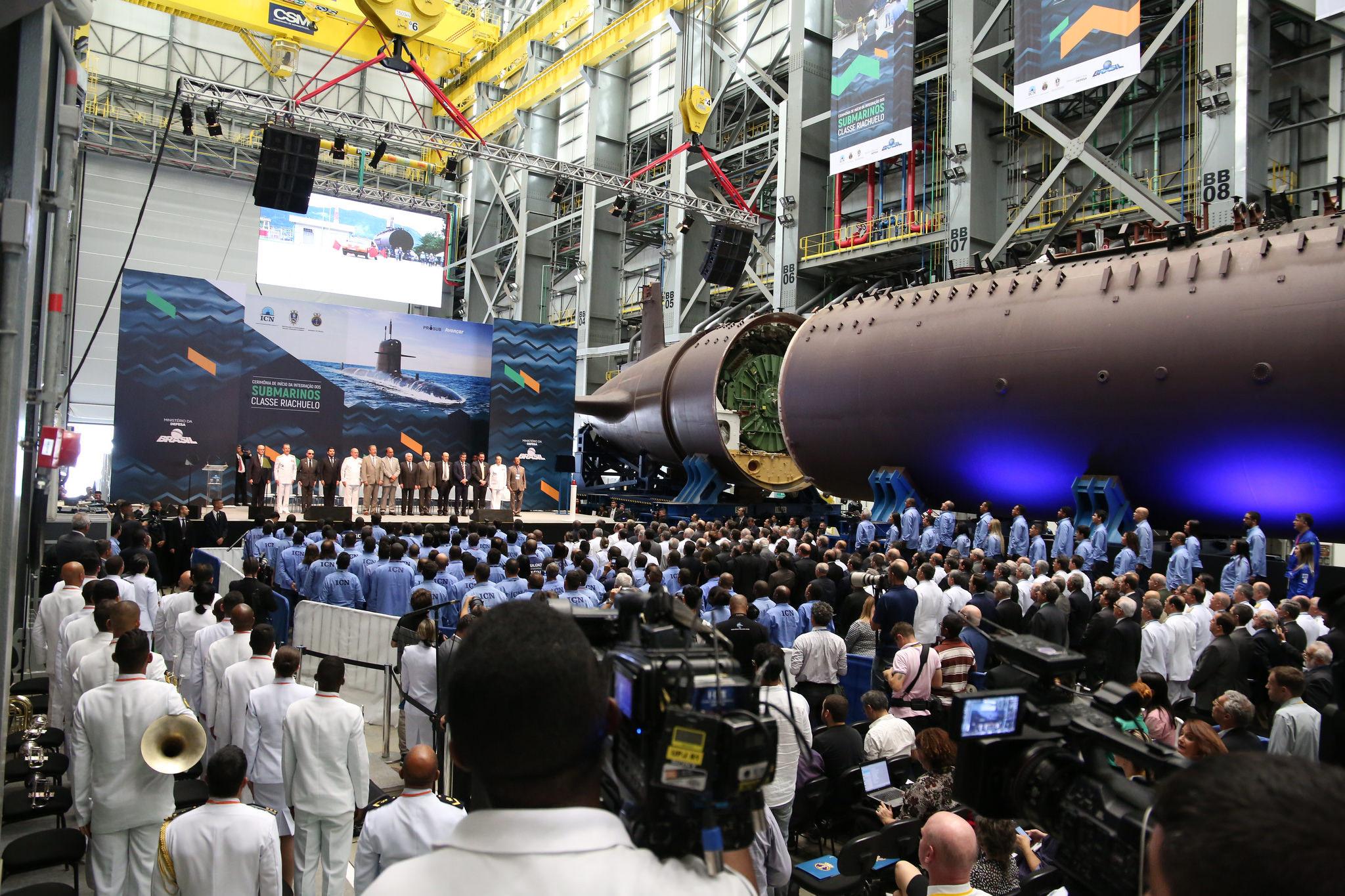 fc85390adeb02 O Riachuelo é o primeiro de quatro submarinos convencionais S-BR do Prosub