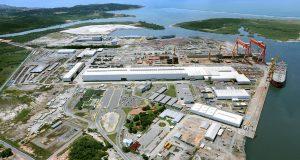 Estaleiro Atlântico Sul, em Pernambuco