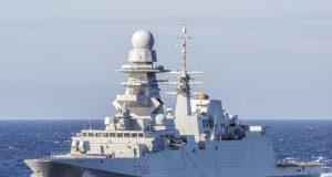 FREMM Alpino, da Marinha Italiana