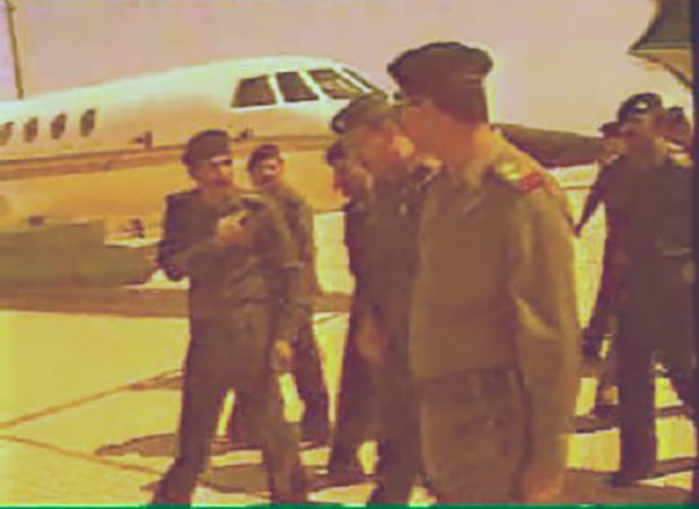 """Falcon 50 """"Susana"""" e Saddam Hussein"""
