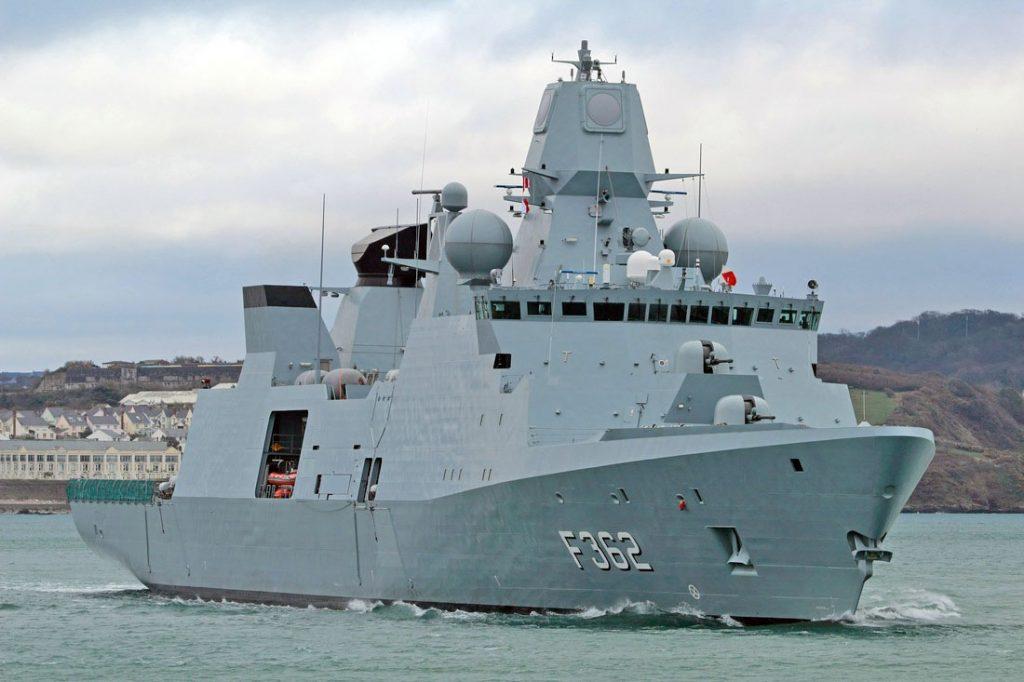 HDMS Peter Willemoes (F-362), classe Iver Huitfeldt