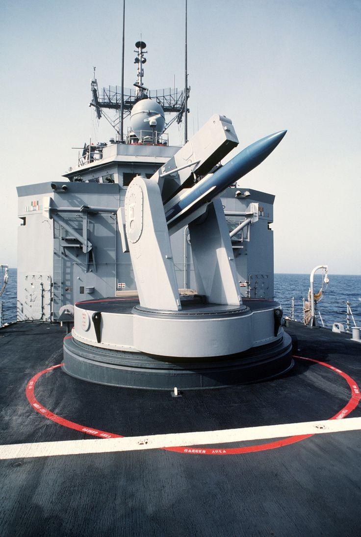 Míssil SM-1 Standard de defesa de área, que equipava a USS Stark. Mesmo capaz de se defender, a fragata americana acabou sendo atingida