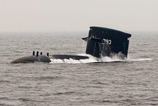 Submarino classe Hai Lung de Taiwan