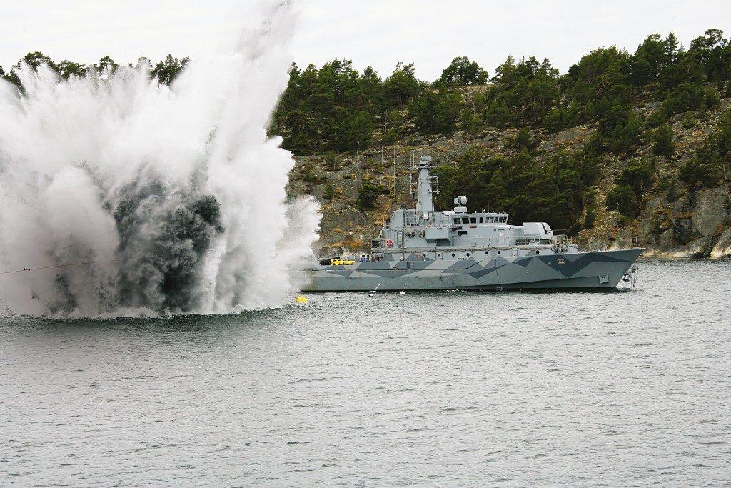 Navio de Contramedidas de Minagem (MCMV) da Saab