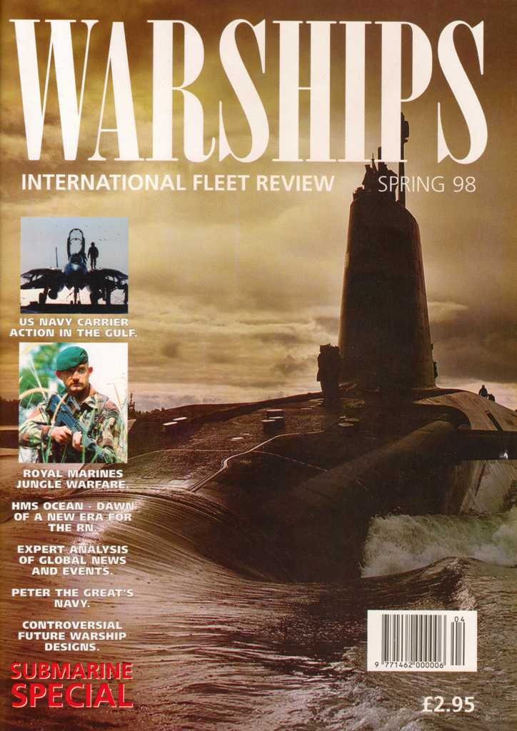 O primeiro número da revista WARSHIPS International Fleet Review