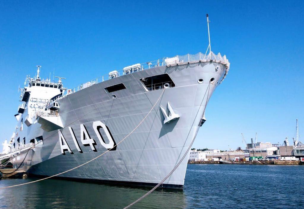 PHM Atlântico - Foto: Tenente Tássia Navarro / Centro de Comunicação Social da Marinha