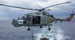 Super Lynx da MB operando no Líbano