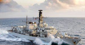 Fragata Type 23 HMS Northumberland