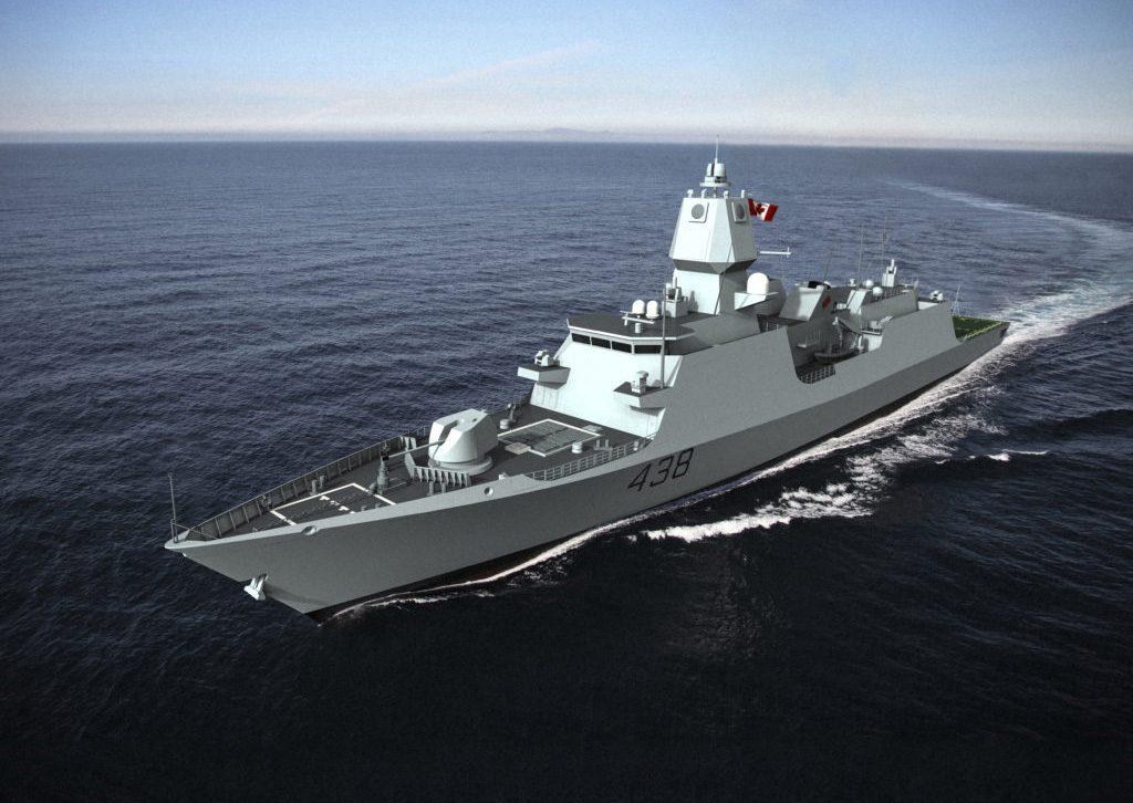 A Alion Science and Technology oferece a proposta baseada na fragata De Zeven Provinciën Air Defence and Command, que está em serviço com a Marinha Holandesa