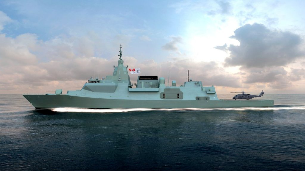 Proposta da BAE Systems para o Canadian Surface Combatant