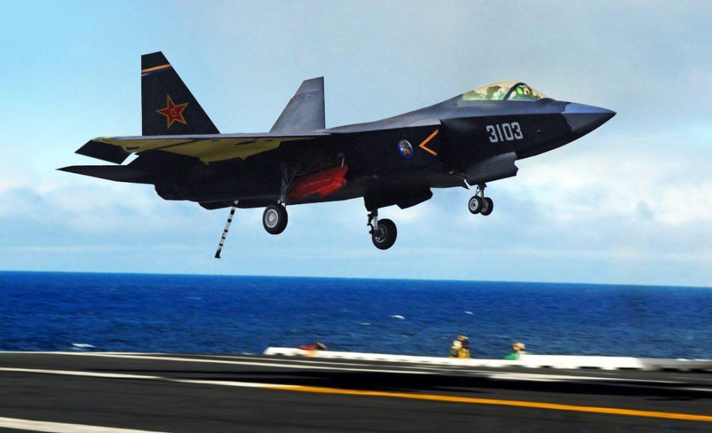 Concepção do FC-31 navalizado