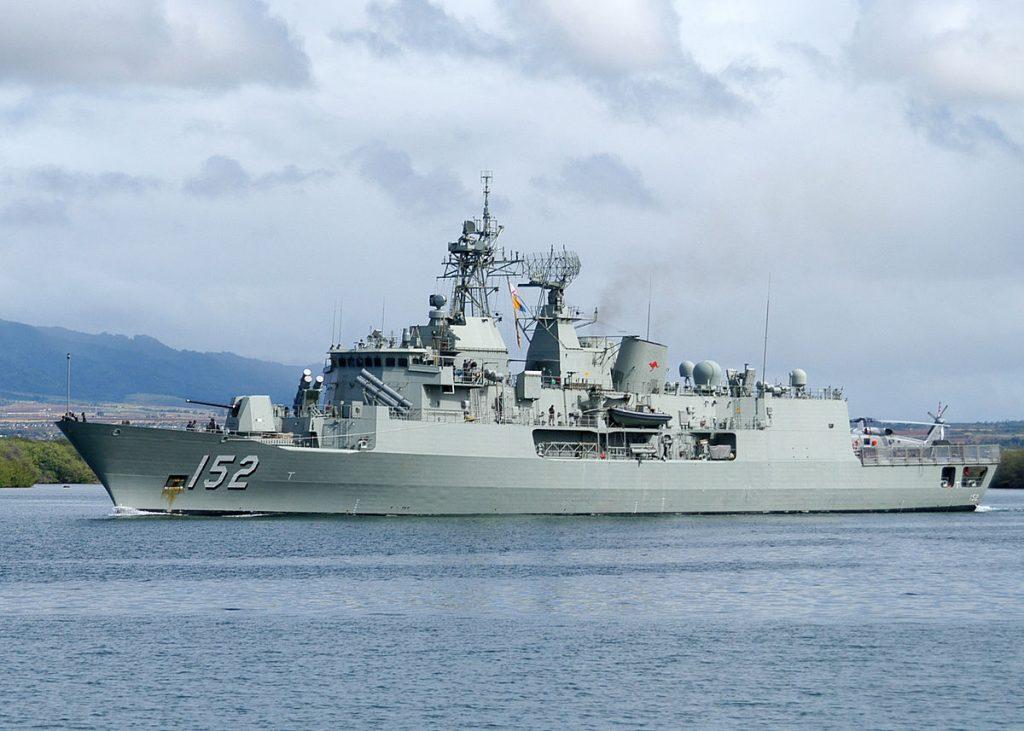 HMAS Warramunga (FFH 152)