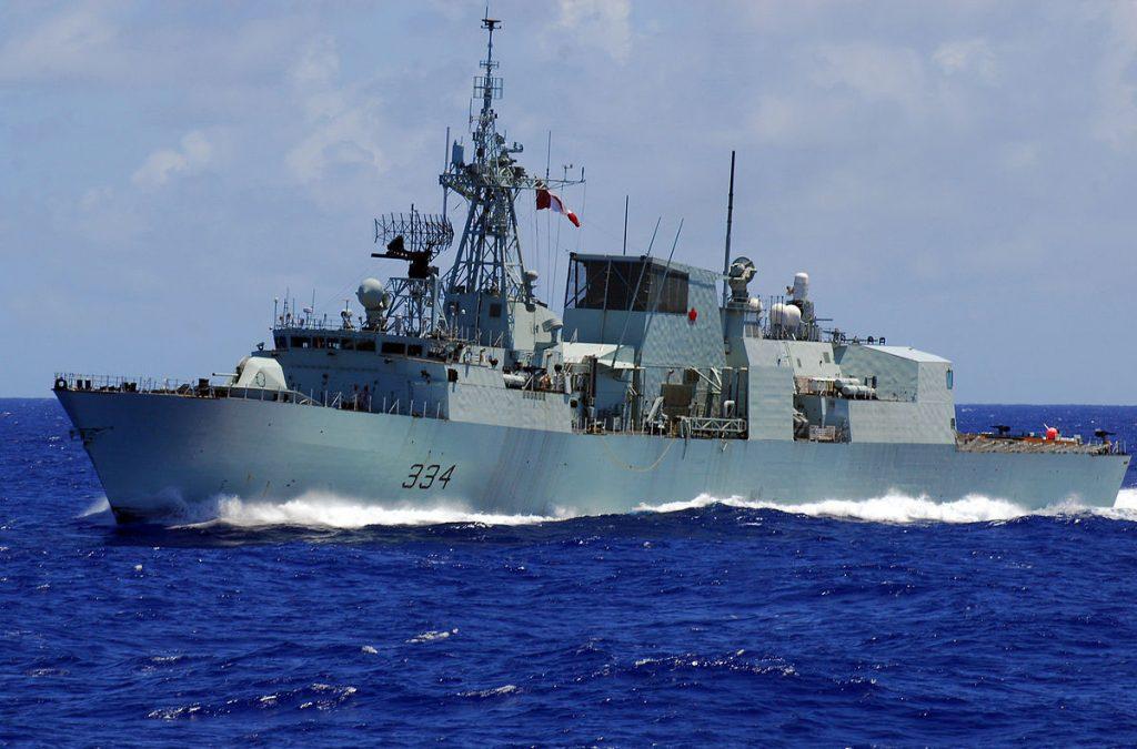 HMCS Regina (FFH 334), classe Halifax