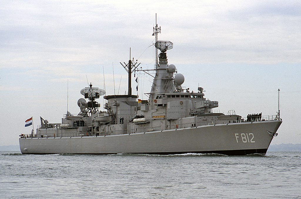 HNLMS Jacob van Heemskerck F812
