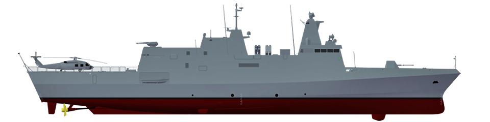 Meko A100 Light Frigate oferecido à MB