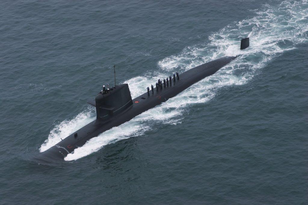 Submarino classe Scorpene, semelhante aos submarinos que vão entrar em breve em serviço na Marinha do Brasil