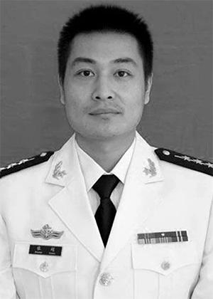 O piloto Zhang Chao