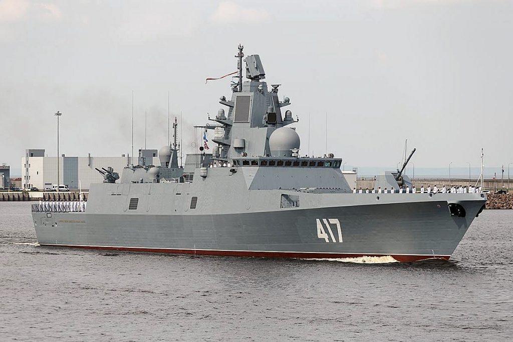Almirante Gorshkov em desfile naval