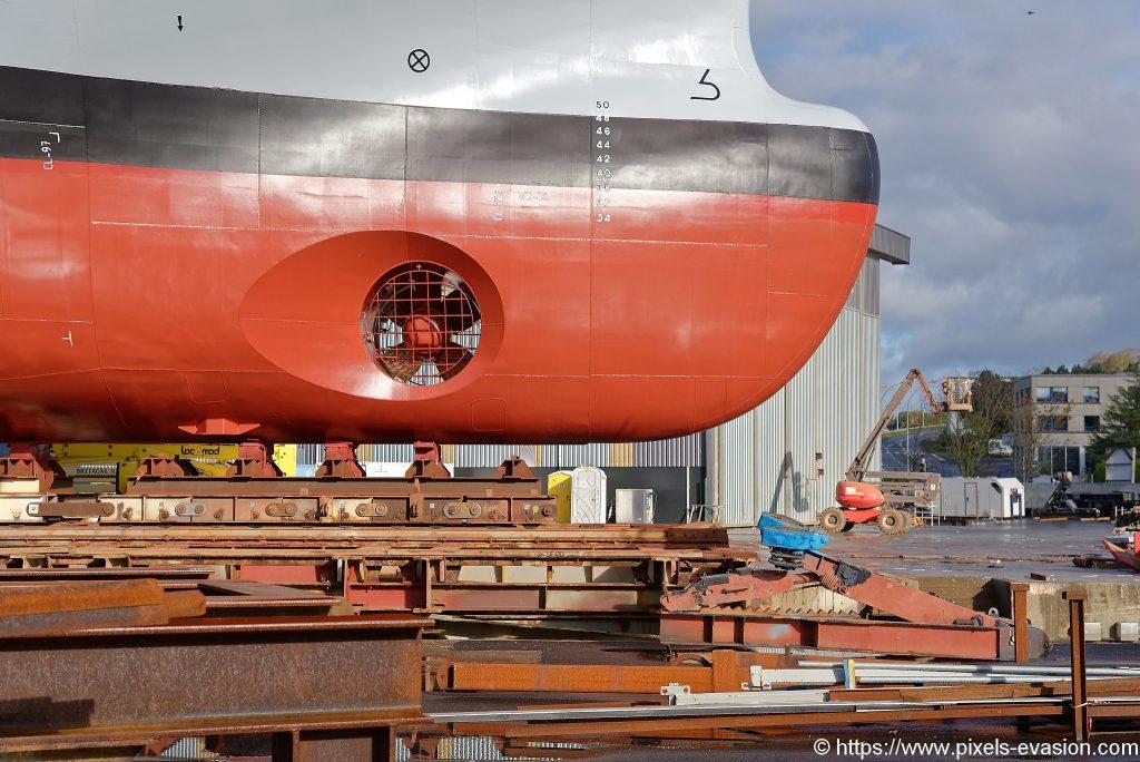 Bow thruster do BSAH Rhône