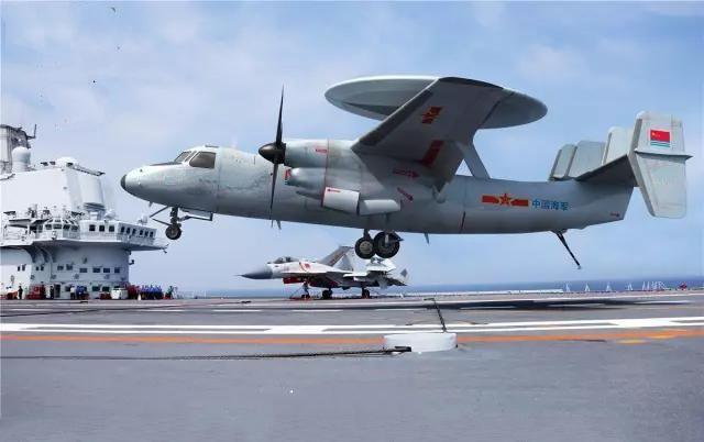 Concepção do KJ-600, semelhante ao E-2 Hawkeye americano