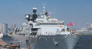 HMS Albion em Tóquio