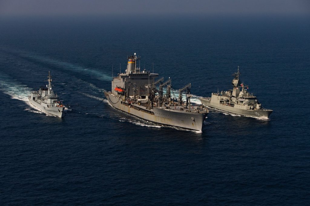 Navios da Combined Task Force 150