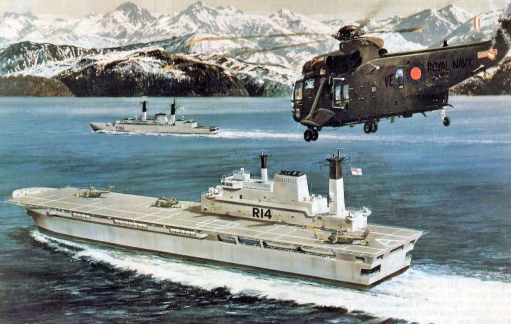 Proposta de conversão do MV Contender Ardent em porta-helicópteros