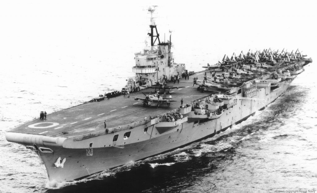 HMS Ocean (R68), da classe Colossus
