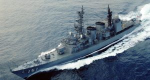 Destróier Asagiri DD-151, da Força Marítima de Auto-Defesa do Japão