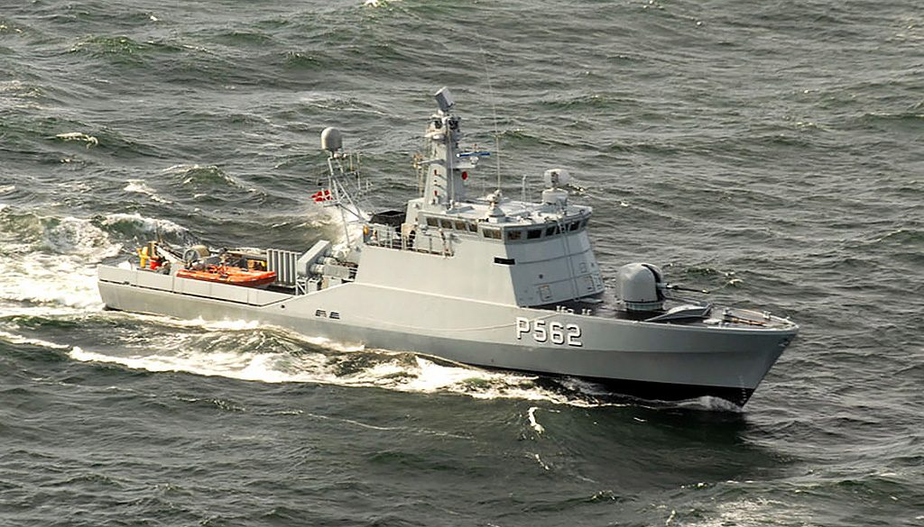 HDMS Viben (P562), classe Flyvefisken