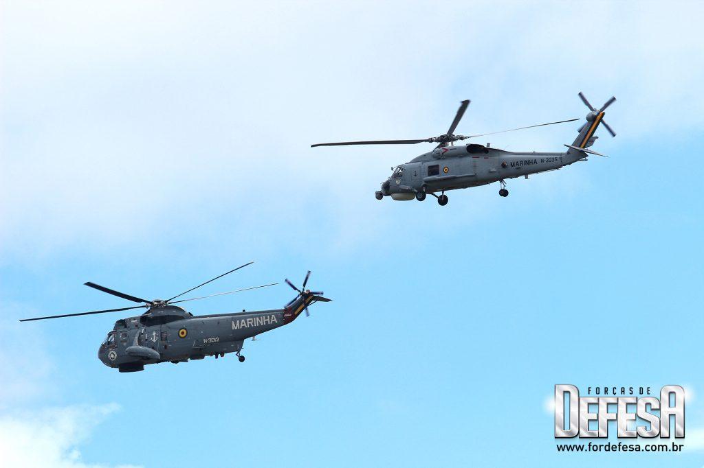 Despedida do Sea King no Aniversário da Força Aeronaval em 2012