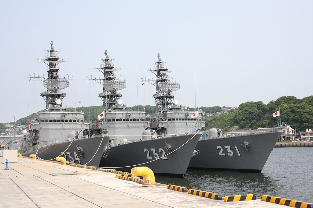 Destróieres de escolta classe Abukuma