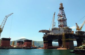 Sondas em construção Estaleiro BrasFELS - Angra dos Reis/RJ. FOTO SETE BRASIL
