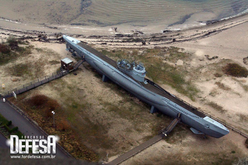 U-boat transformado em museu na Alemanha