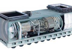 GE LM2500 em box para uso naval