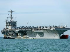 USS Harry S. Truman (CVN-75) em Portsmouth (UK)
