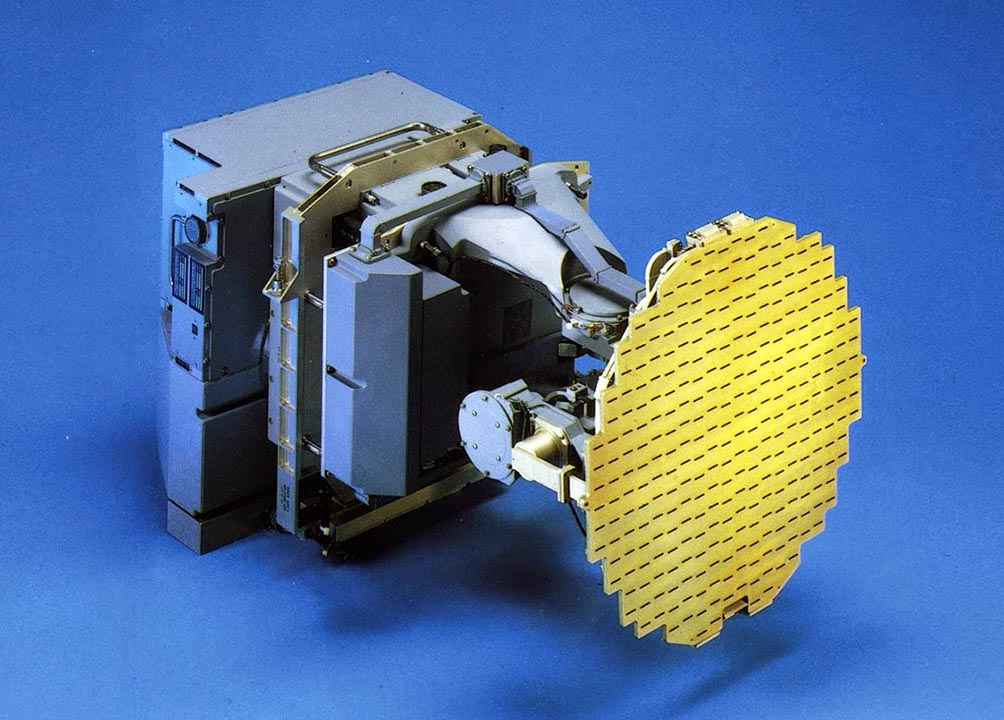 Novo radar EL/M 2032 dos AF-1