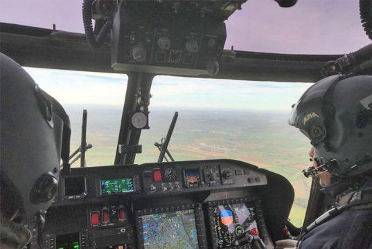 O novo glass cockpit do Super Lynx modernizado