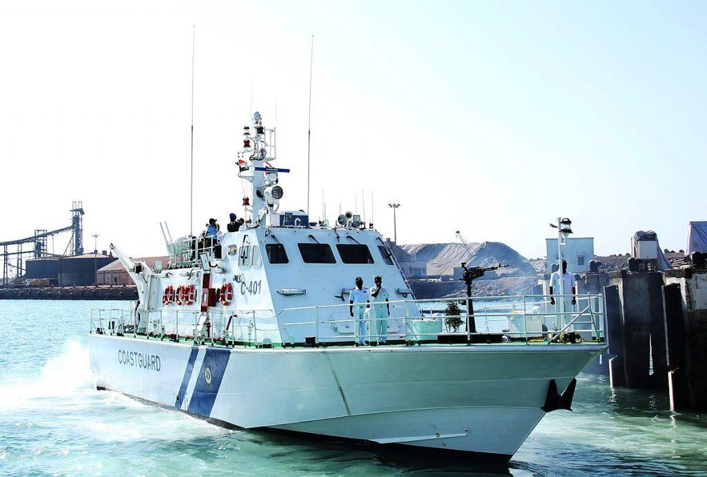 Barco patrulha Larsen & Toubro