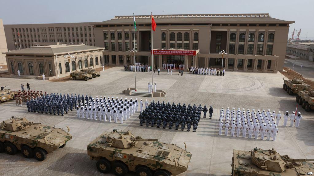 Forças chinesas no Djibouti