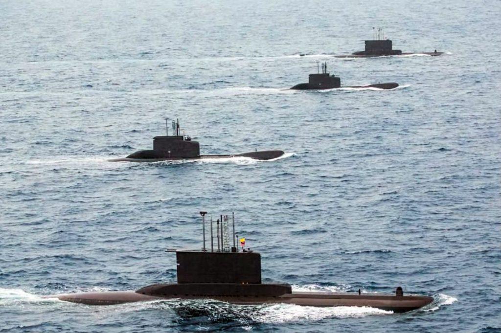 Submarinos da Marinha Colombiana