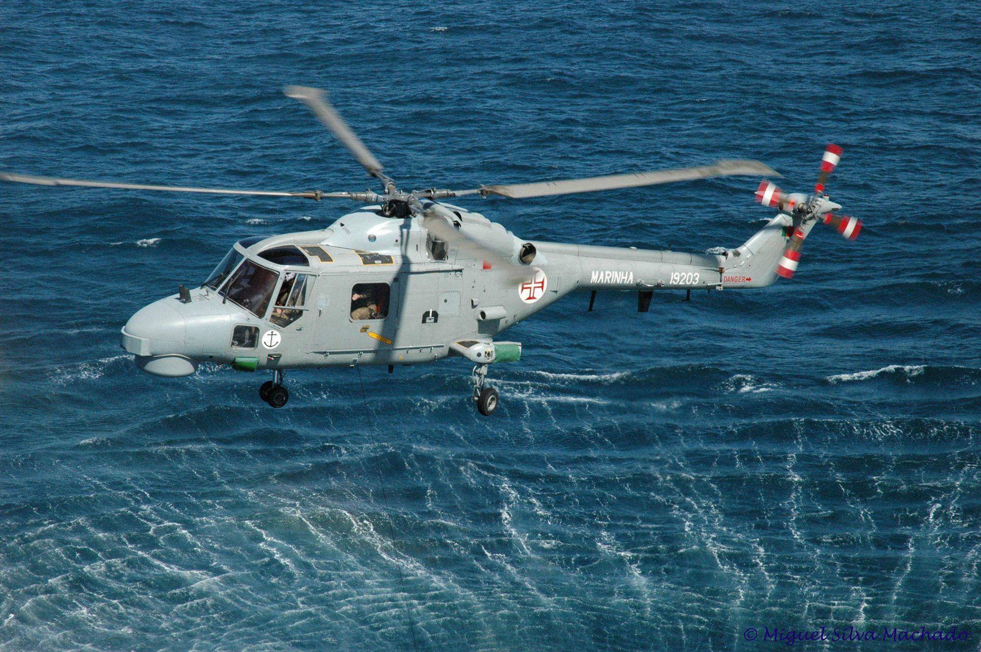 Super Lynx da Marinha Portuguesa