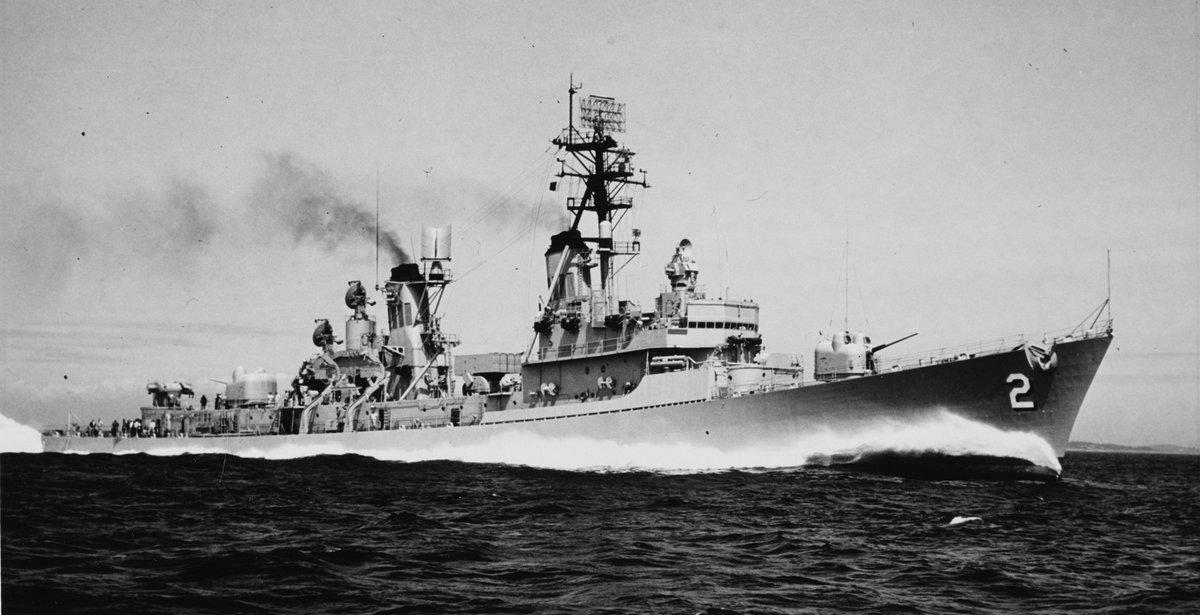 USS Charles F. Adams (DDG-2)