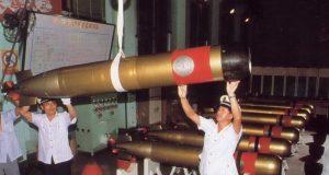 Torpedo leve chinês Yu-7, cópia do Mk.46 americano